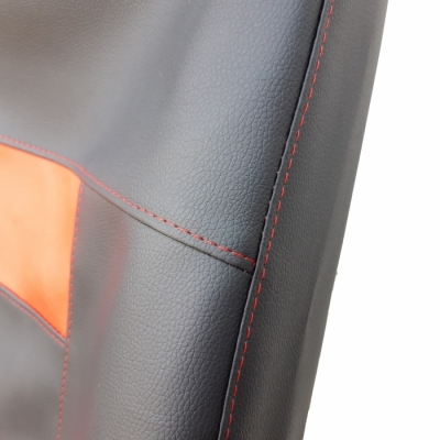 Кожени Калъфи За Седалки Черно С Червено С КОД К 03