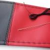 Калъф за волан с конец, червено и черно 38х11 см с код ВМ 06