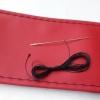 Калъф за волан с конец, червен 38х11 см с код ВМ 05