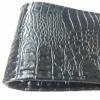 Калъф за волан с конец, черен цвят ефектна кожа  38х11 см с код ВМ 14