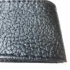 Калъф за волан с конец, черен цвят ефектна кожа  38х11 см с код ВМ 15
