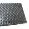 Калъф за волан с конец, черен цвят ефектна кожа  38х11 см с код ВМ 11