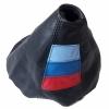 М пакет трицветен елемент  БМВ BMW Е90 Е46 Е36  маншон за скоростен лост  КОД АК 908