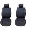 Постелки 2 Броя За Седалки От Изкуствена Кожа С Сиви Конци С КОД КР 109