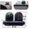 Компас С Термометър С Въртяща На 360 Градуса Плаваща Топка С Код М 457
