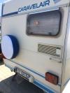 Калъф За Каравана И Кемпер Двуцветен Синьо И Бяло  Резервна Гума Диаметър 14 15 16 цола код КМ 959
